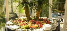 How to Make a Pineapple Palm Tree for a Serving Tray | eHow.com