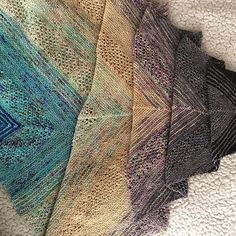 Ravelry: Project Gallery for Find Your Fade pattern by Andrea Mowry