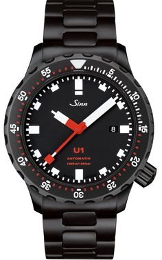 @sinnfrankfurt U1 S PVD Bracelet Pre-Order #add-content #bezel-unidirectional #bracelet-strap-steel  #case-depth-14-3mm #case-material-black-pvd #case-width-44mm #date-yes #delivery-timescale-1-2-weeks #dial-colour-black #gender-mens #luxury #movement-automatic #new-product-yes #official-stockist-for-sinn-watches #packaging-sinn-watch-packaging #pre-order #pre-order-date-30-11-2016 #preorder-november #style-dress #subcat-diving-watches #supplier-model-no-1010-020-bracelet #warranty-si...