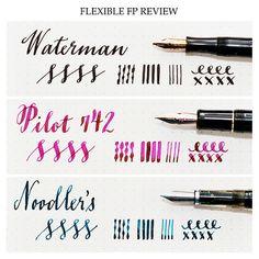 Flexible Fountain Pen for Calligraphy | Katrina Alana