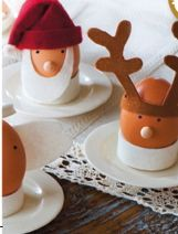 christmas breakfast - HARD BOILED EGGS is great. This is a cute idea - how to adapt it for the REAL story of Jesus' birth