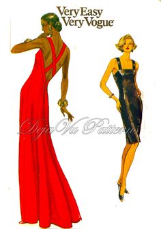 Ladies in Red ~ sewing patterns from the Pattern Patter Team by Char on Etsy