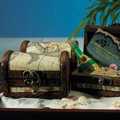 Mini Treasure Chest Beach Favor