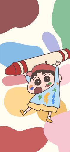 Sinchan Wallpaper, Cartoon Wallpaper Iphone, Iphone Background Wallpaper, Kawaii Wallpaper, Cute Cartoon Wallpapers, Disney Wallpaper Tangled, Sinchan Cartoon, Doraemon Wallpapers, Crayon Shin Chan