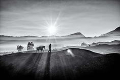 Bromo @ Sunrise East Java, Indonesia
