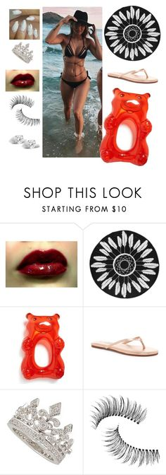"""""""Pool Party (Dylan)"""" by lifeoflucy ❤ liked on Polyvore featuring Big Mouth, Yosi Samra, Garrard, Trish McEvoy and Glitzy Rocks"""