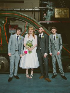 Creative and Colourful 1950s Inspired Wedding: Ryan & Connie · Rock n Roll Bride