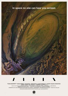 ArtStation - Alien Poster, Rasmus Poulsen