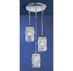 "View the Classic Lighting 1083-AW 18"" Crystal Chandelier from the Cascade Collection at Build.com."
