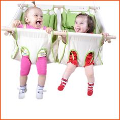 Swing for twins more nature linens baby baby linens baby baby hammocks