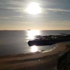 "This photograph of Cullercoats Bay North Tyneside was taken by Shelagh Levin who says ""we're spoilt for beautiful beaches here"". This weeks #englandsbigpicture theme is #Paralympics. Send your Paralympic or #Rio2016 inspired pictures to england@bbc.co.uk #england #picoftheday #photosofbritain #ukpotd #capturingbritain #cullerscoatsbay #northtyneside #beach #sea #sand"