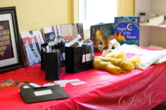 Gift table for guest at the gift wrap party at Masjid Omar for the National Eid Toy and Gift Drive two years ago.