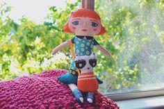 DIY Doll Kit Make your own Mandarina Doll by MandarinasDeTela