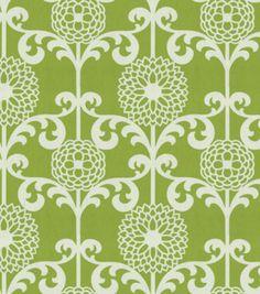 Waverly Modern Essentials Fabric-Fun Floret / Spruce, , hi-res