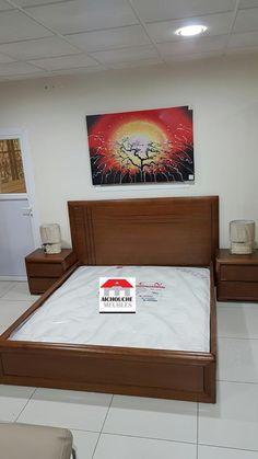 Bed Headboard Design, Bedroom Bed Design, Modern Bedroom Design, Headboards For Beds, Bedroom Decor, Wooden Bedroom, Bedroom Furniture Design, Bed Furniture, Home Decor Furniture