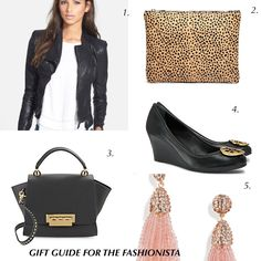 gift guide for the fashionista - eartha iconic mini, blank nye faux leather, tory burch wedges, and my favorite target tote. christmas list
