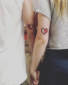 Couples' tattoos can be pretty hit or miss. We've seen corresponding full-body tattoos that form torso-sized hearts and questionable ink with indiscernible Tribal Scorpion Tattoo, Tattoo Tribal, Blue Tattoo, Dream Tattoos, Badass Tattoos, Sexy Tattoos, Tattoos For Guys, Tattoos Motive, Tattoos Skull