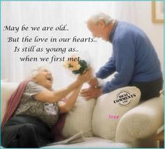 May Be We Are Old