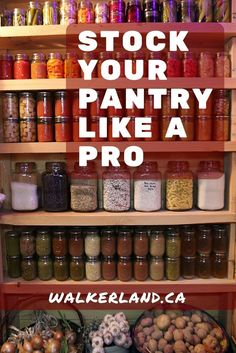 Great list - As a former purchasing and logistics professional, I take a different approach to purchasing food for the homestead. Learn some tip and tricks to save you time and money while enabling you to keep a well stocked pantry year round. Pantry Storage, Pantry Organization, Organizing Ideas, Canning Jar Storage, Seed Storage, Organized Pantry, Tips And Tricks, Konservierung Von Lebensmitteln, Emergency Food Storage