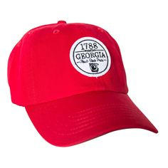 The Georgian Hat in Nantucket Red by Peach State Pride