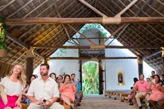 Catholic Chapel @Xcaret in Playa del Carmen, Mexico Photo By PlayaWeddings
