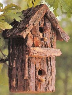 Rustic Birdhouses | Projects, tips, inspiration