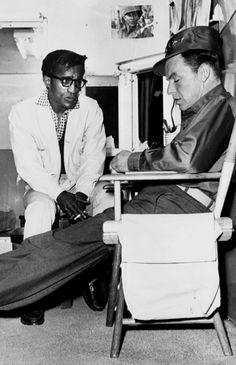 Sammy Davis Jr. and Frank Sinatra / AS1966