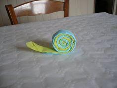 Des sucettes avec des serviettes en papier de couleur