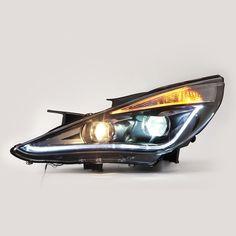 515.00$ Watch here - http://ali73g.worldwells.pw/go.php?t=32776462271 - New Type Car Accessories for Hyundai Sonata Head Lamp Headlight Modify Custom 2011-2015 515.00$