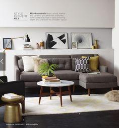 我們看到了。我們是生活@家。: 紐約Brooklyn的居家品牌west elm,2月號以Mid-Century Mix為主題!
