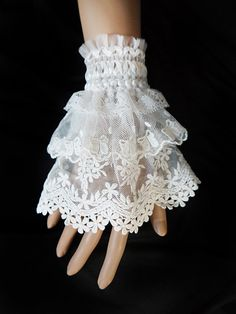 Page Not Found , Dresslily is an online shopping store who providing fashion dresses, quality electronics. A cheap clothes shopping is easy here. Lace Cuffs, Lace Gloves, Lace Collar, Sleeves Designs For Dresses, Sleeve Designs, Style Lolita, Wedding Gloves, Fabric Jewelry, Lolita Dress