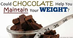 Research shows that consuming high levels of flavanols found in foods like chocolate may help prevent type 2 diabetes and obesity. http://articles.mercola.com/sites/articles/archive/2014/04/21/chocolate-flavanols.aspx