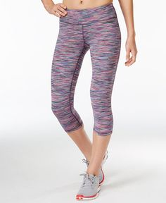 1bd44a2981390d Ideology Spring Space-Dyed Cropped Leggings, Created for Macy's - Pants -  Women - Macy's