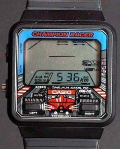 gameraboy: Champion Racer LCD watch