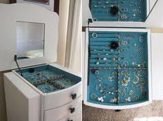 New Diy Jewelry Armoire Projects Dressers Ideas