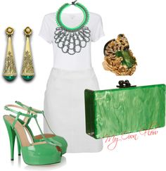 """""""MY FAV COLOR..WHITE"""" by myownflow on Polyvore"""