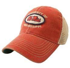 Ole Miss Rebels vintage mesh hat