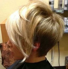 Nevas next haircut. Purple in the back and at the roots.