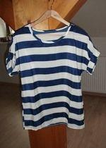 Lehké pruhované letní triko