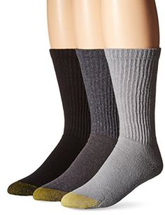 Gold Toe Men's Cotton Crew Athletic Sock 6-Pack ** Want additional info? Click on the image.