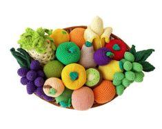 Big Crochet fruit set Montessori toys Kitchen Decoration Cornucopia Sensory toys Toy kitchen Toys for toddlers Stuffed Amigurumi by Crochetpumpkin on Etsy Crochet Fruit, Crochet Toys, Kitchen Toys For Toddlers, Toy Kitchen, Montessori Toys, Sensory Toys, Cotton Bag, Decoration, Etsy