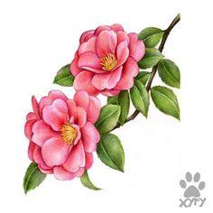 Botanical Flowers, Botanical Prints, Vintage Diy, Vintage Flowers, Vintage Floral, Shade Flowers, Watercolor Projects, Fruit Painting, Arte Floral