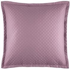 """Ralph Lauren Wyatt Decorative Pillow, 20"""" x 20"""" ($80) ❤ liked on Polyvore featuring home, home decor, throw pillows, pillows, duchess lavender, ralph lauren throw pillows, light purple throw pillows, ralph lauren, cotton throw pillows and colored throw pillows"""