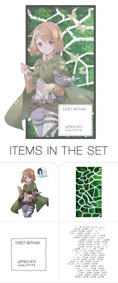 """Expect Nothing, Appreciate Everything"" by josi-heart ❤ liked on Polyvore featuring art"