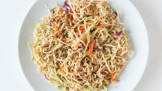 Indonesian Noodle Salad | Epicure.com 5 MIN PREP 10 MINUTES 210 CALORIES $1.20   Ingredients MAKES: 4–6 SERVINGS 1/4 C (60 ml) rice wine vinegar 2 Tbsp (30 ml) vegetable oil 2 Tbsp (30 ml) sesame oil 1 Tbsp (15 ml) Epicure Indonesian Seasoning 2 Tbsp (30 ml) Asian Stir-Fry Seasoning 2 Tbsp (30 ml) low-sodium soy sauce 12 oz (170 g) ramen noodles (curly Japanese noodles), crumbled 1 (12 oz/340 g) bag broccoli slaw Sesame Crunch Topper, – optional Preparation   Whisk together first 6…