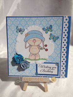 Handmade Card  Happy Birthday by LilsCardCraft on Etsy, $7.00