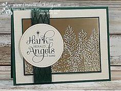Embossed Christmas Cards, Create Christmas Cards, Beautiful Christmas Cards, Homemade Christmas Cards, Stampin Up Christmas, Christmas Cards To Make, Noel Christmas, Xmas Cards, Handmade Christmas