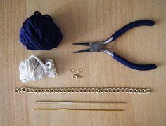 """DIY bracelet """"Navy style"""""""