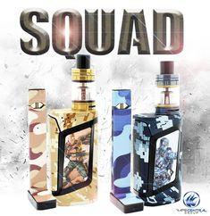 CUSTOM SQUAD!! Match your devices to suit YOU! #juul #pax #camo #army #squad #cod #smok #alien #custom #paint #vape #vaping #vapor #vapelife #mod
