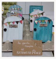 "Puerta mágica del ""Ratoncito Pérez"" 
